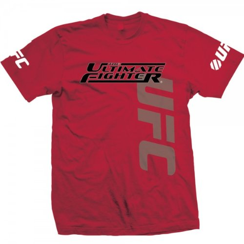 UFC Men's The Ultimate Fighter (Tuf) Live Team Cruz Tee (RED, 2X) Large