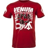 "Venum ""Wand's Return"" Japan UFC Walkout T-shirt - Red - M"
