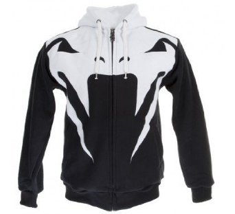 "Venum ""Attack"" Hoody - Zip Up Hoodie - Black (L) Large"