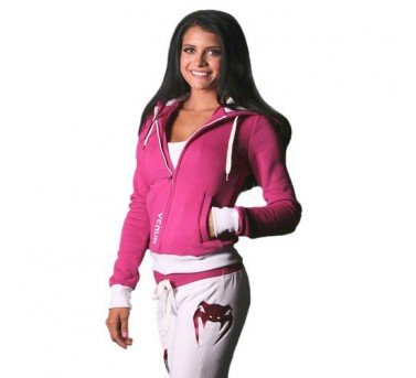 "Venum ""Flamengo"" Hoody for Women - Zip Up Hoodie - Pink (M) Large"