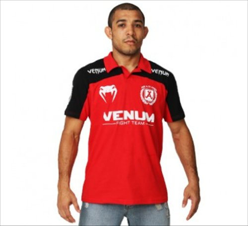"Venum ""José Aldo Junior Signature"" Polo - Red/Black Large"