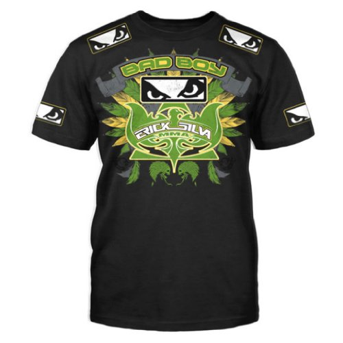 Bad Boy Erick Silva UFC 153 Walkout T-Shirt - Black Large