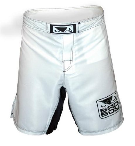 "Bad Boy MMA White "" Capo "" Fight Shorts Large"