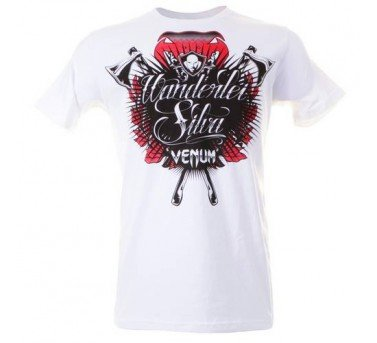 "Venum Wanderlei ""The Axe Murderer"" Silva T-shirt - Ice Large"