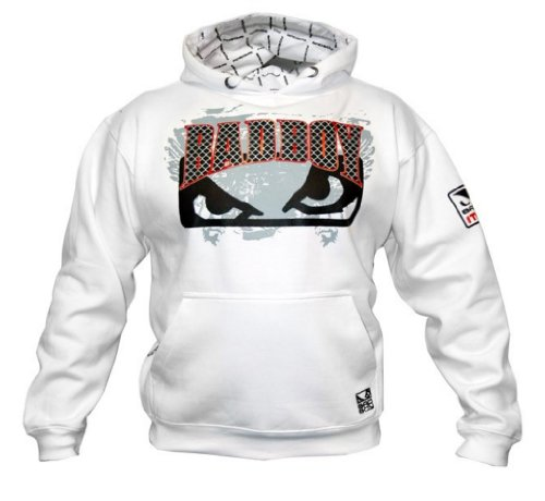 Bad Boy Official MMA Hoodie - White Large