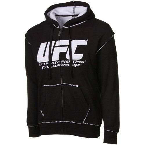 UFC Sherpa Hoodie - Black (Medium) Large