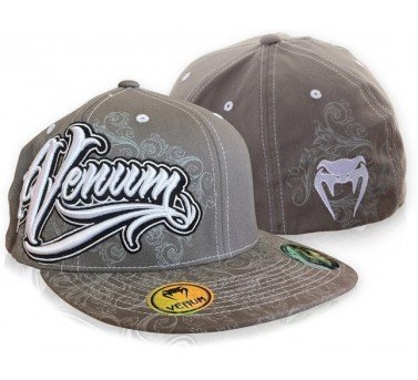 Venum Brazillia Fighters Hat (Grey/Silver) - S/M Large