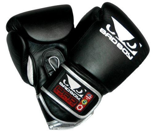 Bad Boy Pro Series Leather MMA Training Boxing Glove (16oz) Large