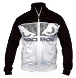 Bad Boy Nemesis Athletic Track Top Jacket - Black/White - L
