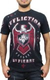 Affliction George St Pierre GSP Royal Guard UFC 167 Walk Out T-Shirt XL Black